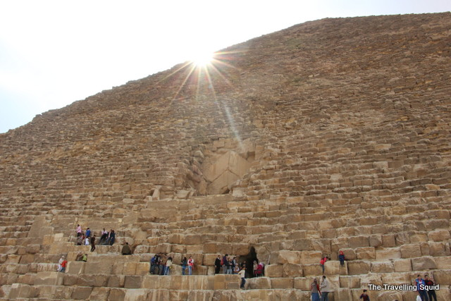 why going inside the great pyramid of giza may not be worth it the