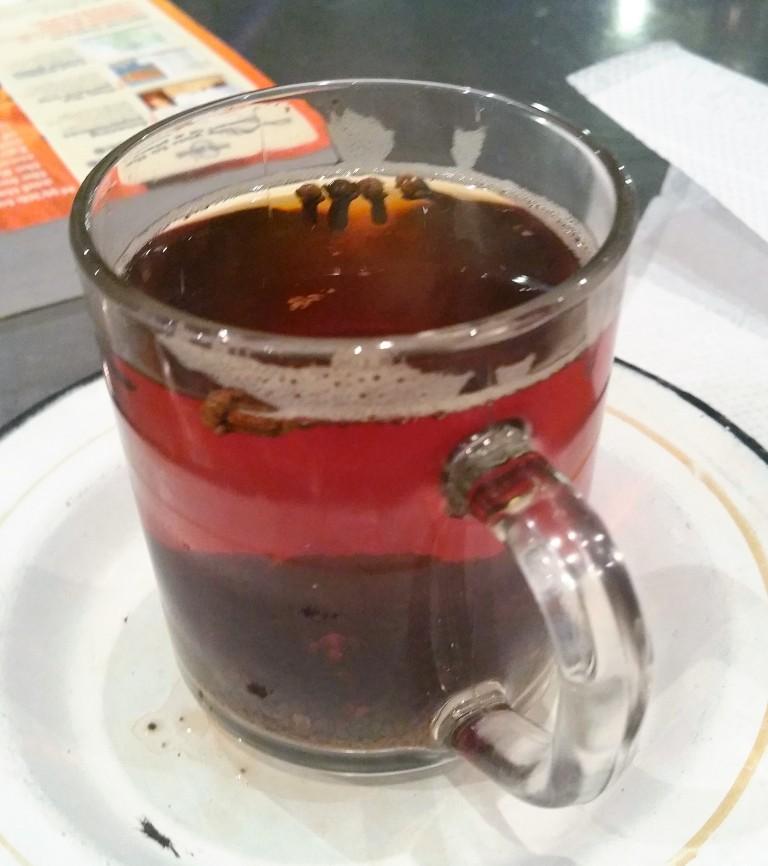 zooba cairo zamalek restaurant masala tea