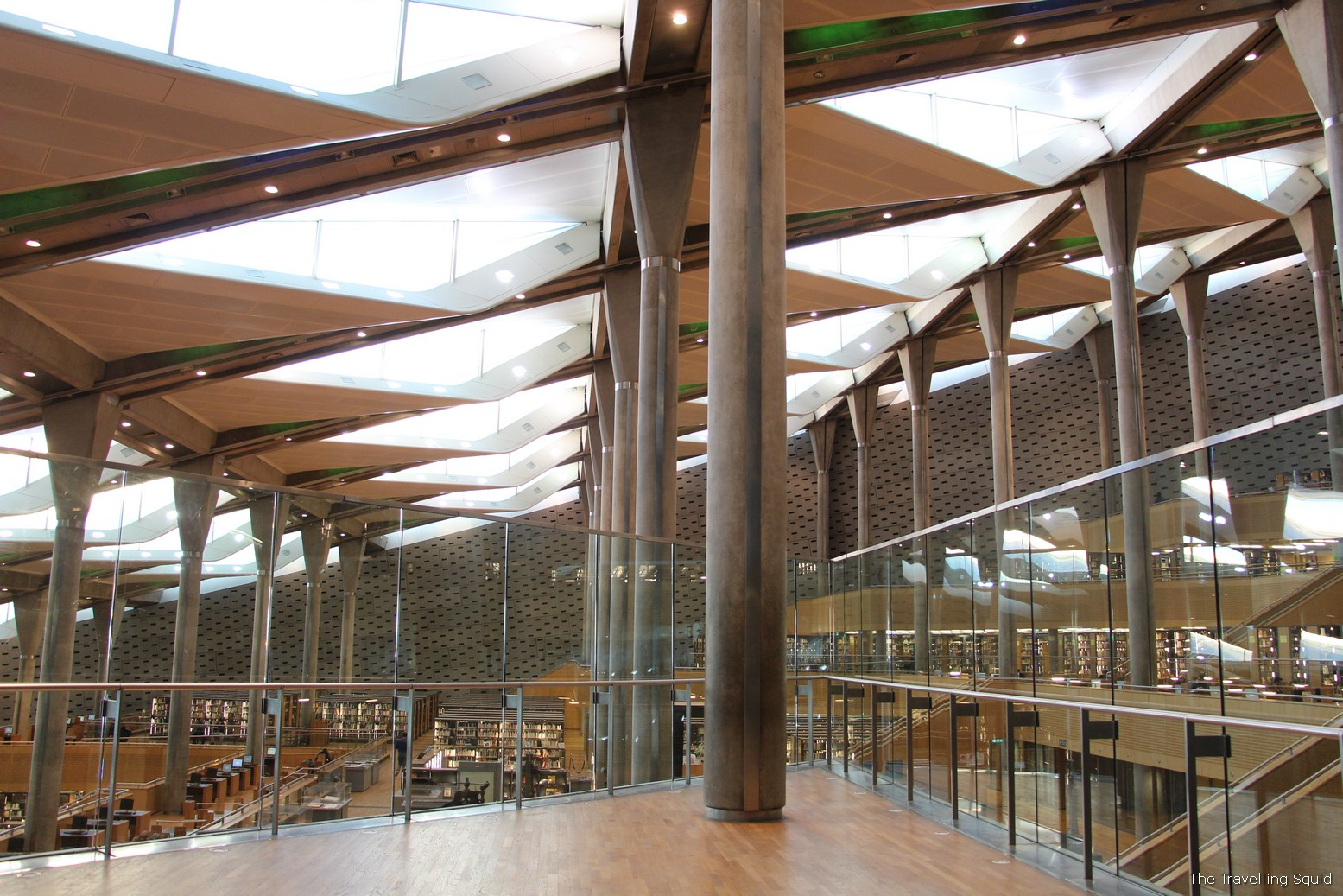 brothers who could not enter theBibliotheca Alexandrina