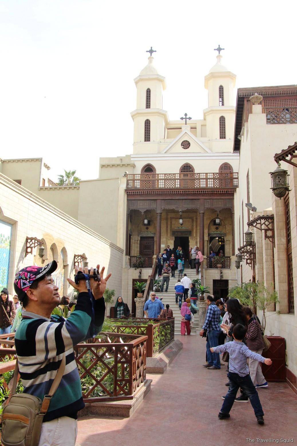 coptic cairo hanging church egypt