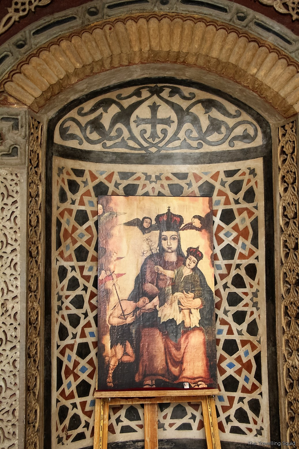 the Hanging Church in Coptic Cairo