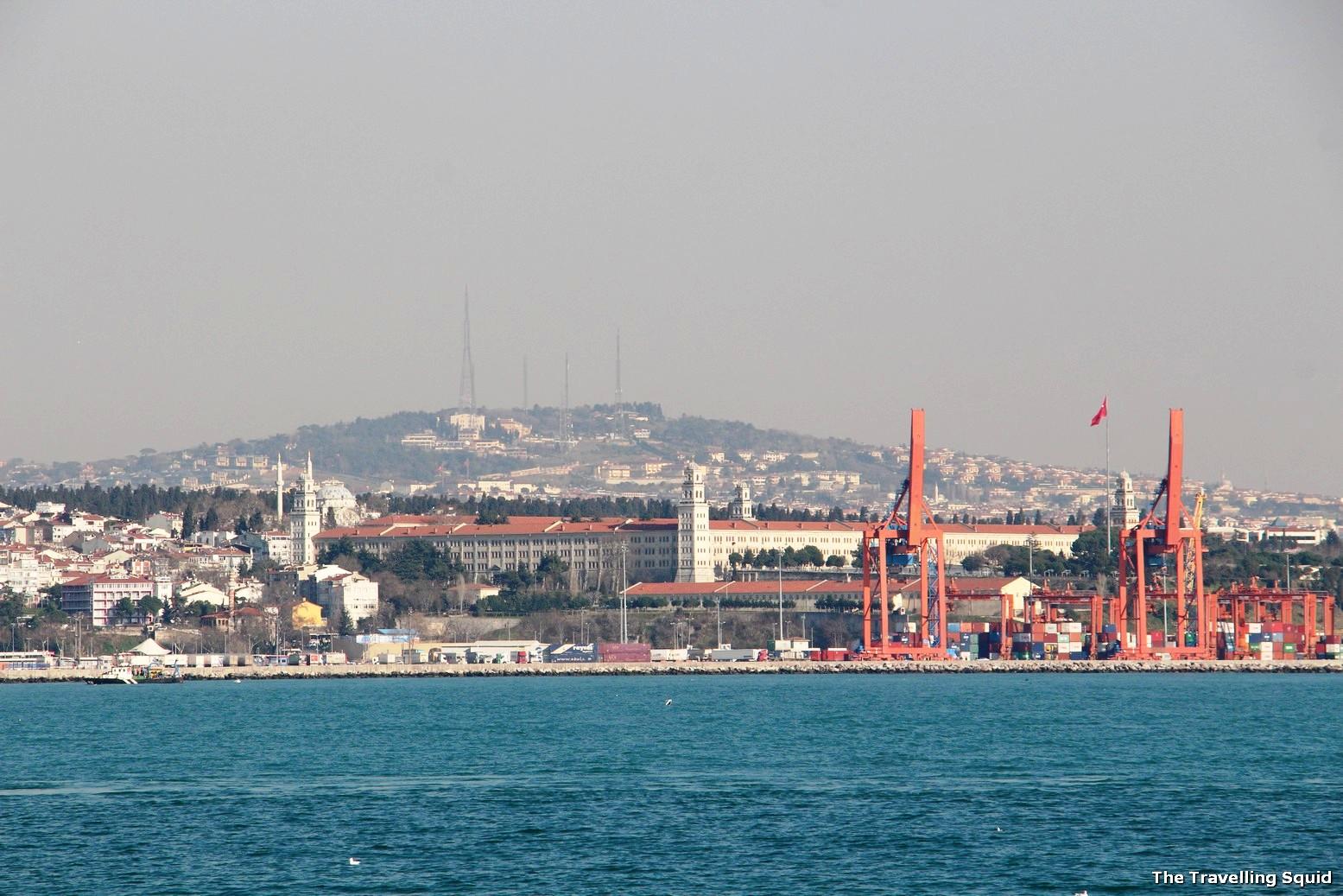 Bosphorus Strait turkey istanbul