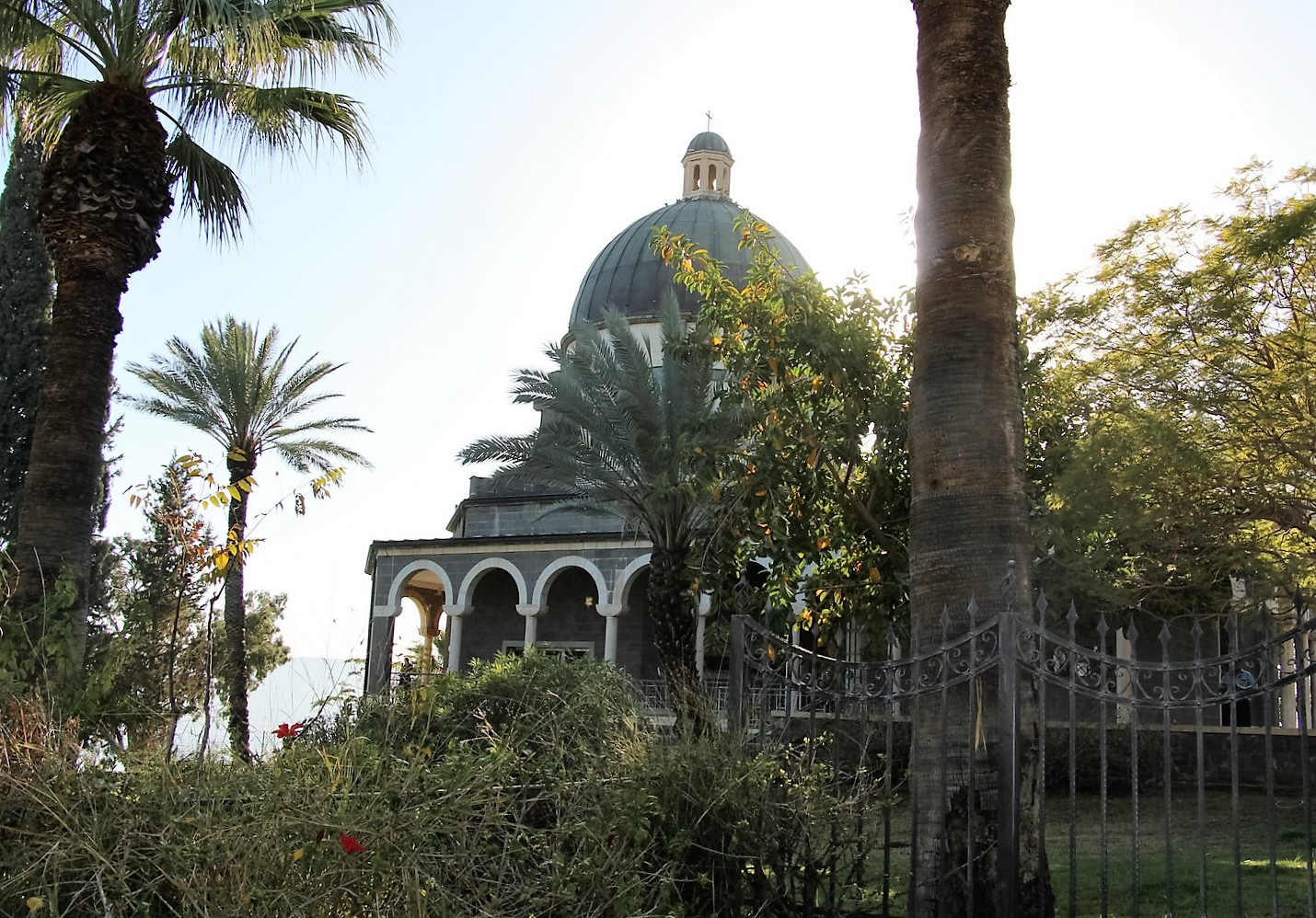 Mount of Beatitudes israel church