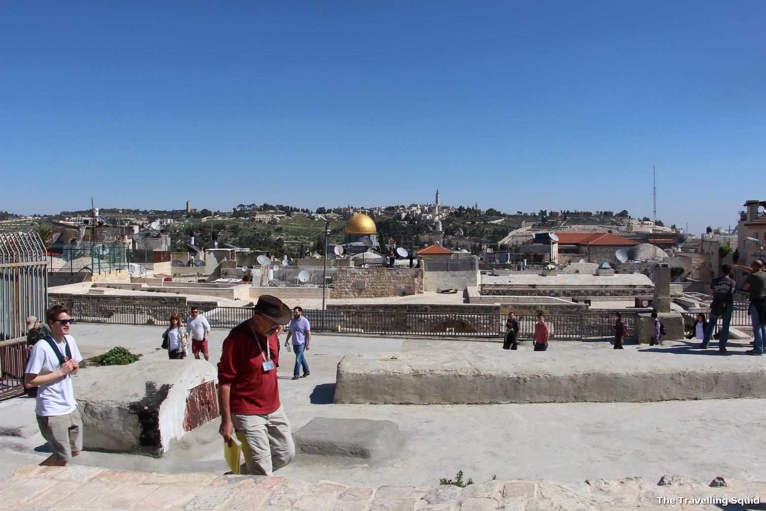 Temple Mount in Jerusalem as a tourist