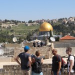 Visiting the Temple Mount in Jerusalem as a tourist