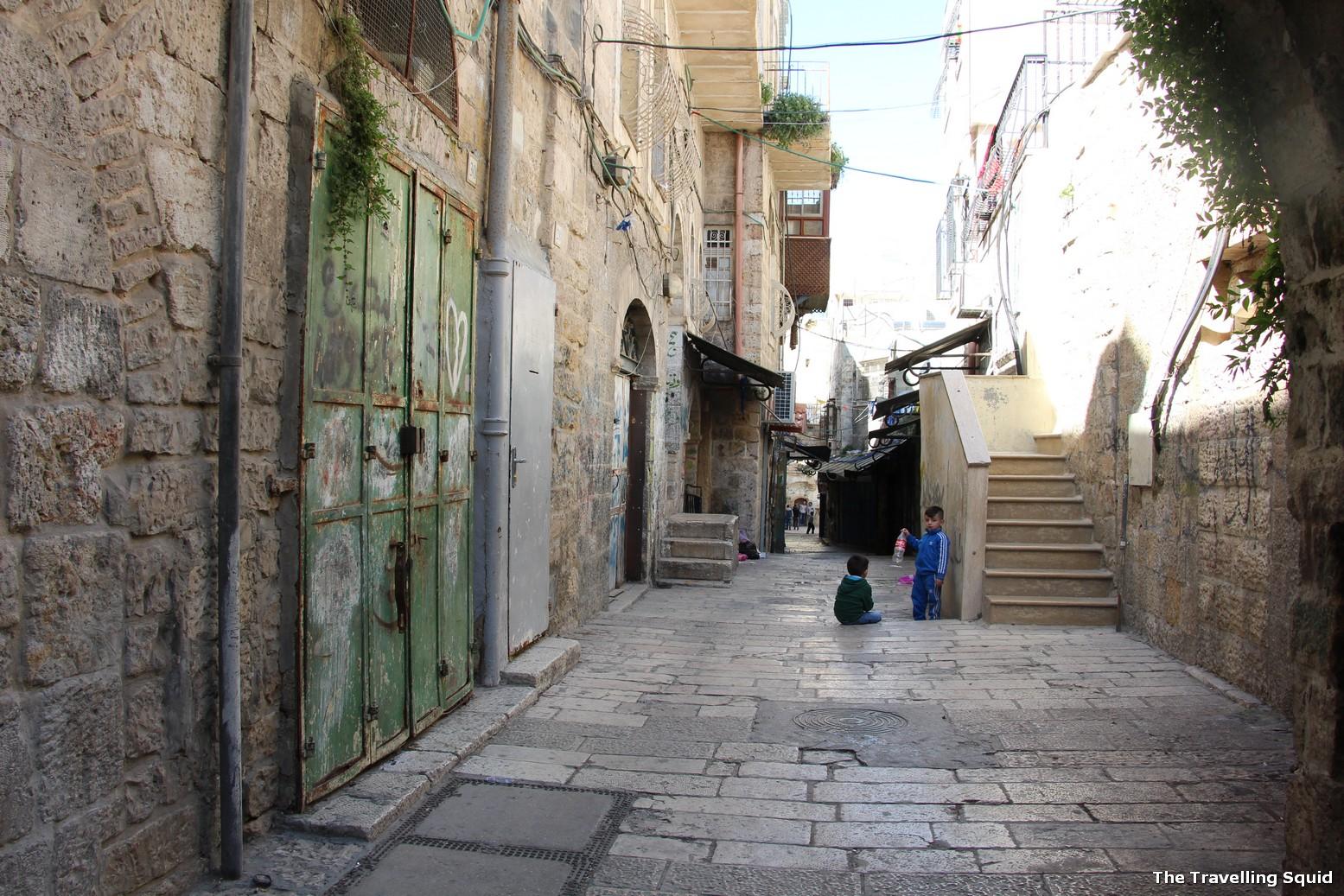 sandemans tour israel arab quarter