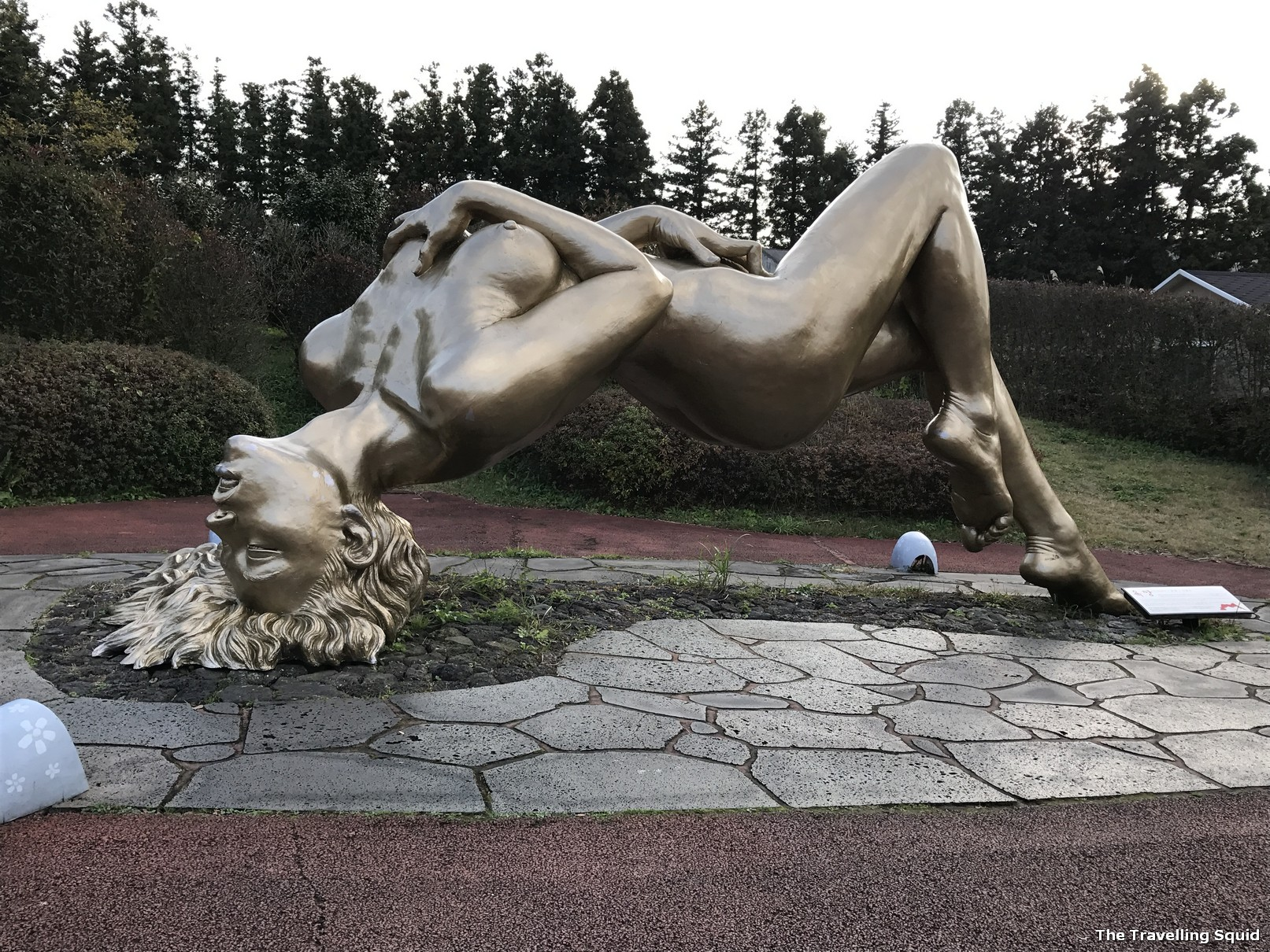 Solved. Women having sex with statue agree, rather