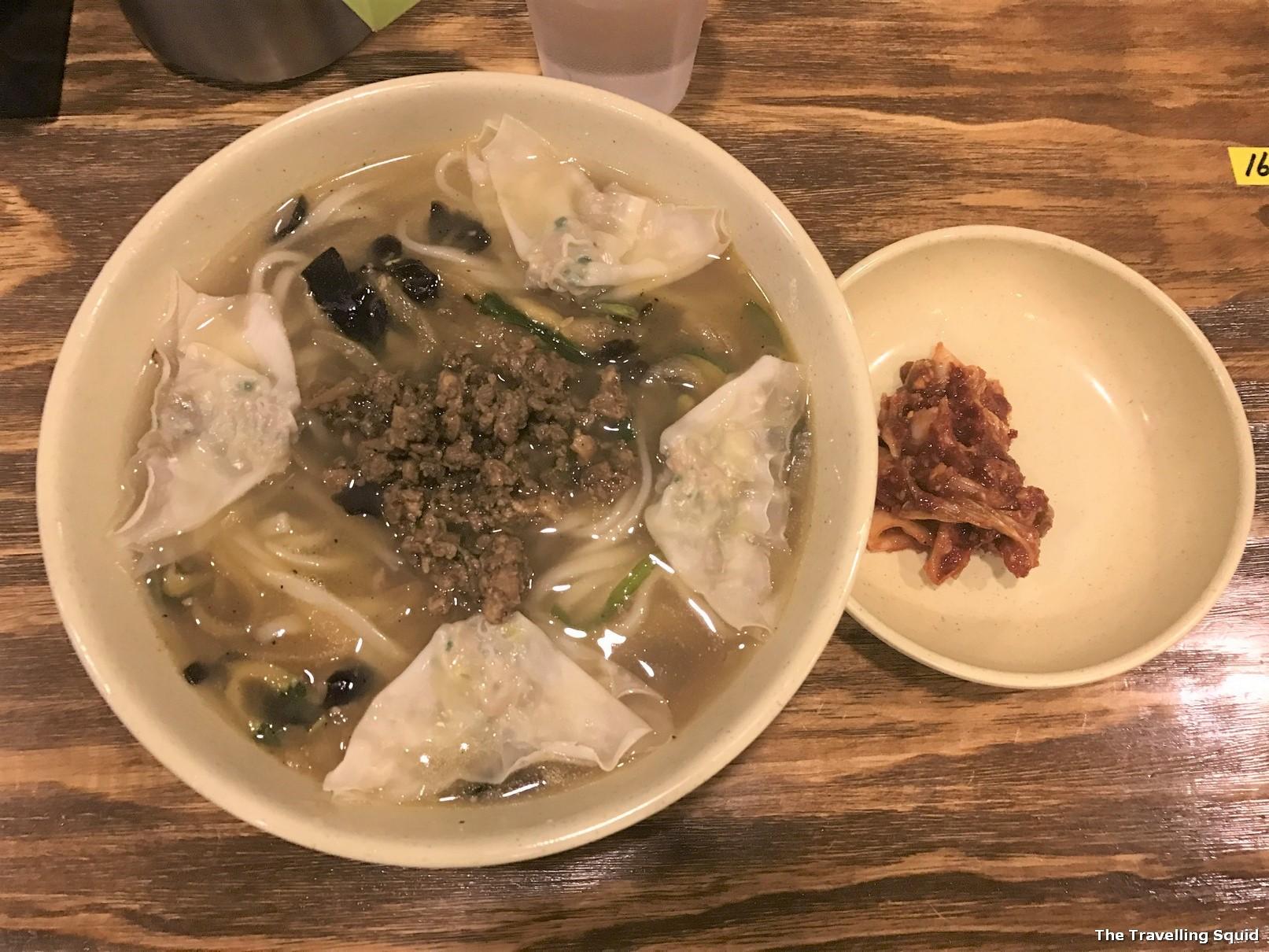 myeongdong kyoja soup noodles