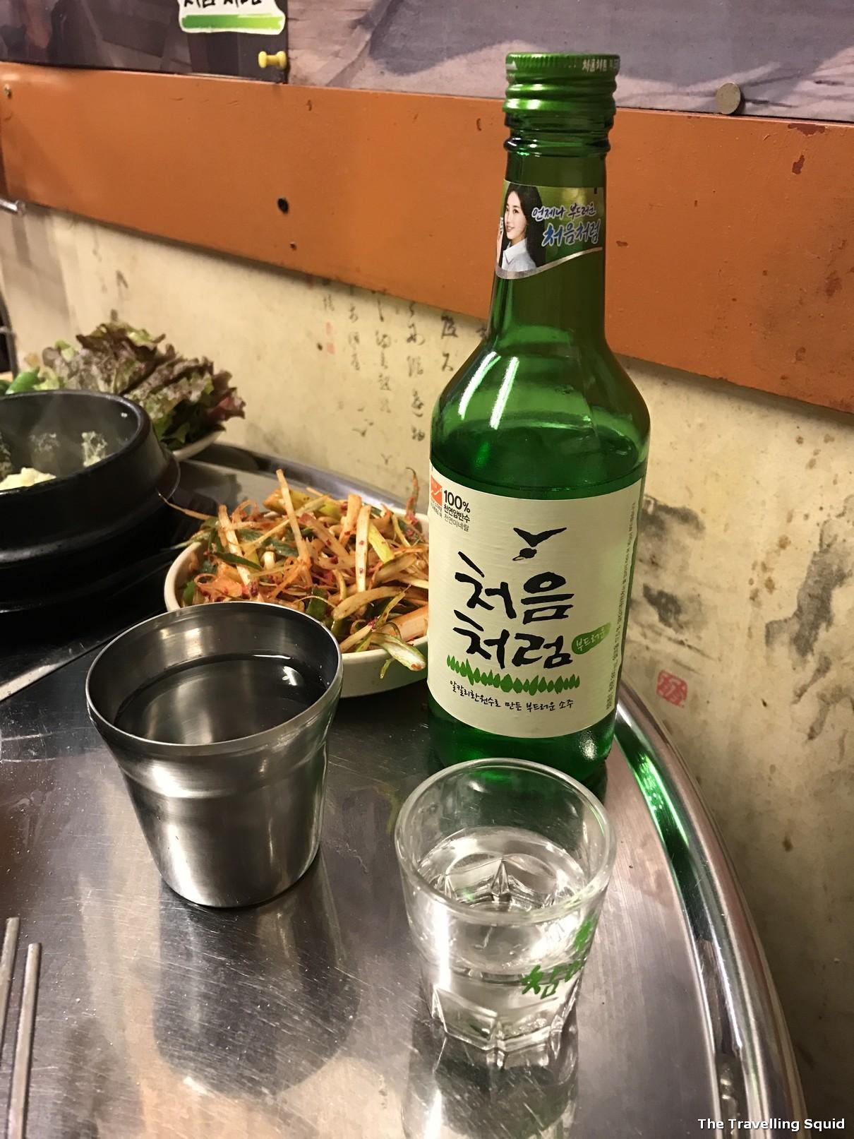 Simpsons Korean BBQ restaurant in Ikseon-dong