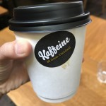 Visit Kaffeine for good coffee in Fitzrovia