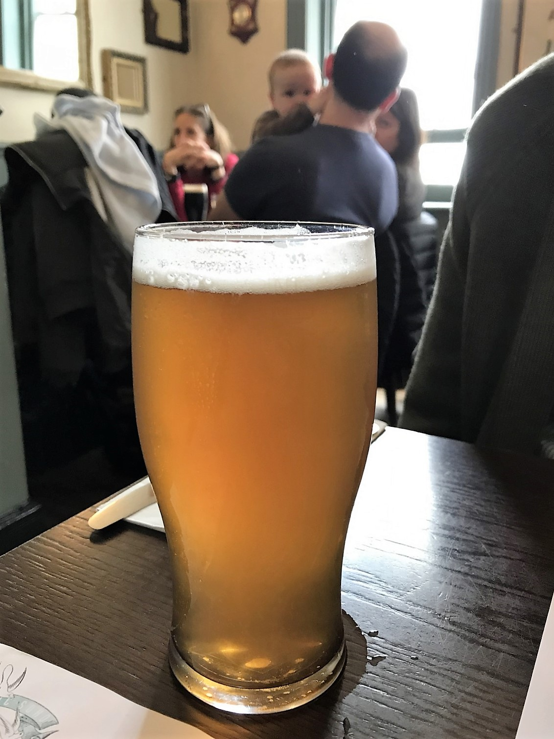 beers at The Lyric in Soho London big bear pale ale