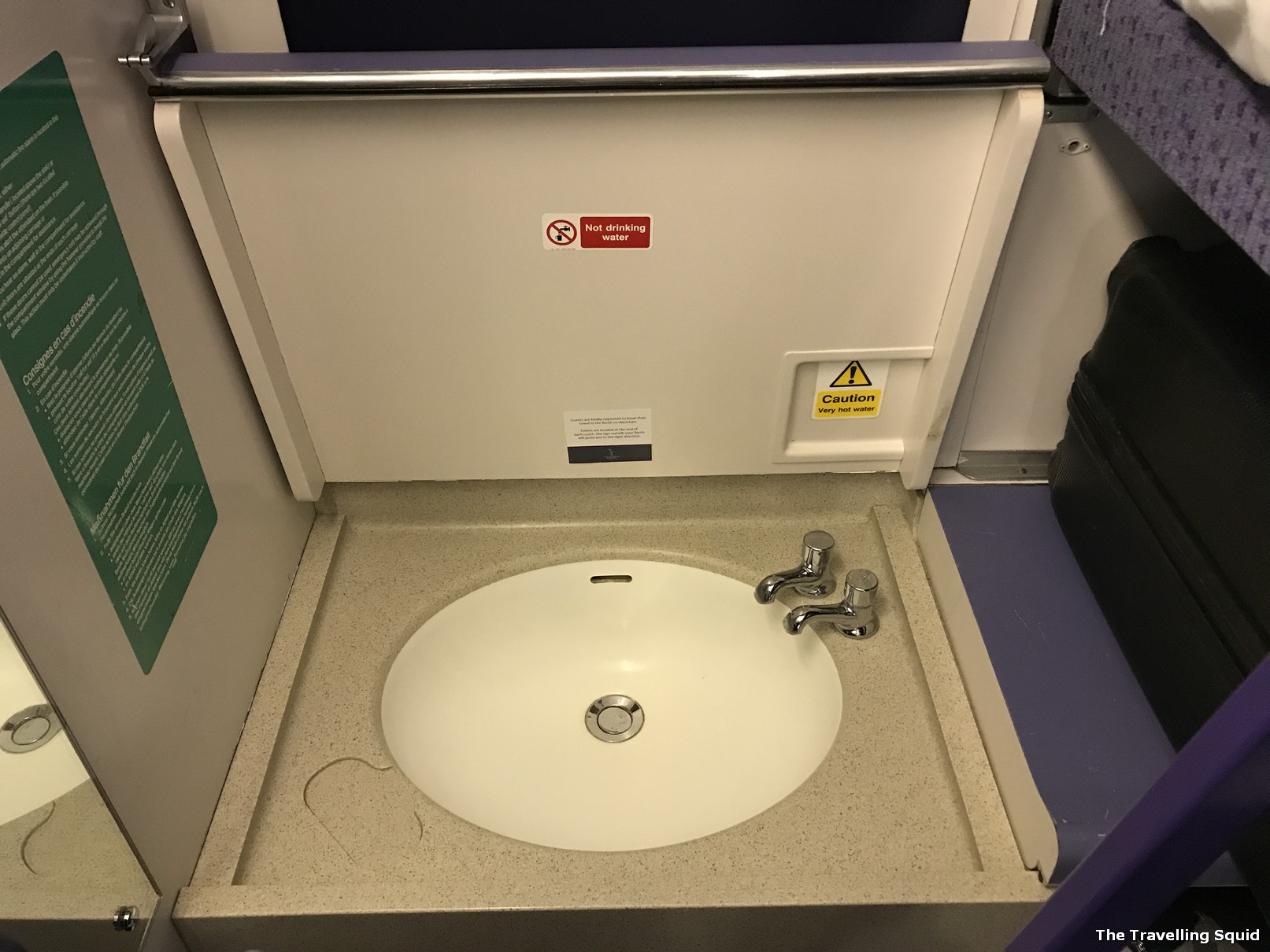 caledonian sleeper london to edinburgh