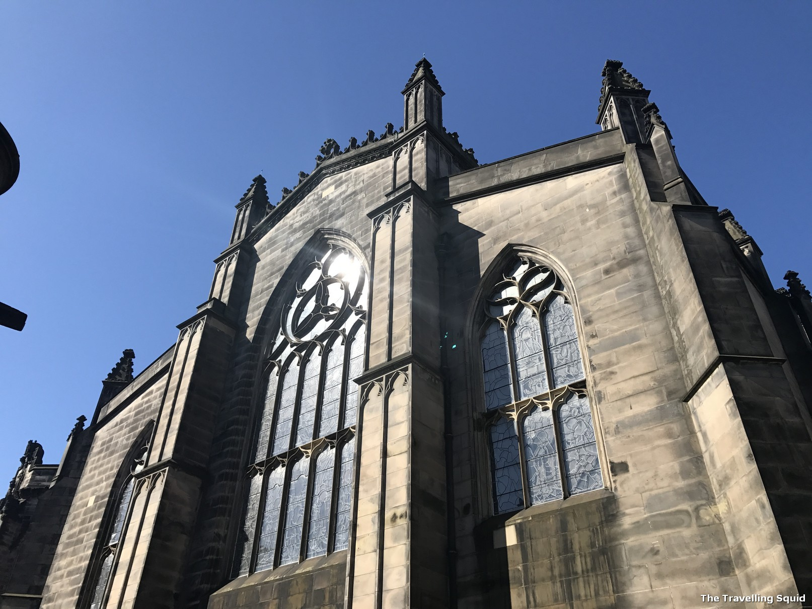St Giles Cathedral edinburgh sandemans walking tour