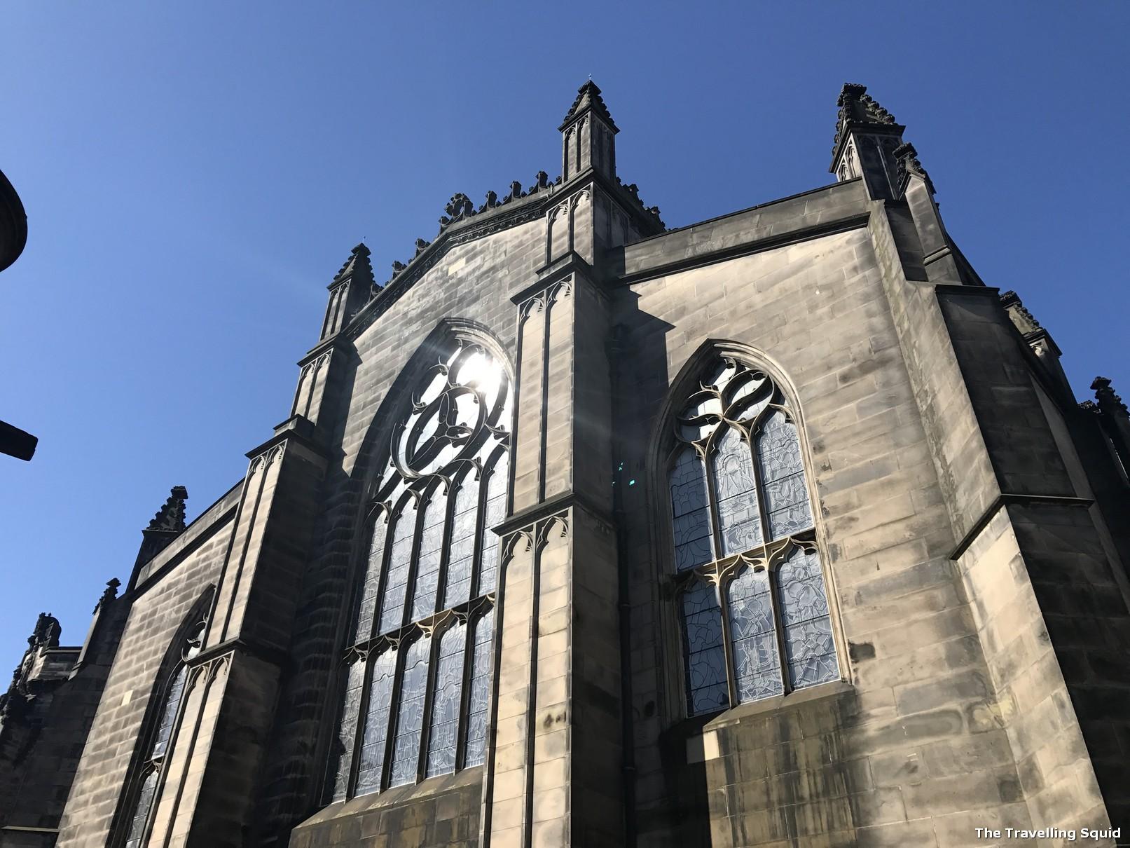St Giles Cathedral edinburgh sandemans walking tour