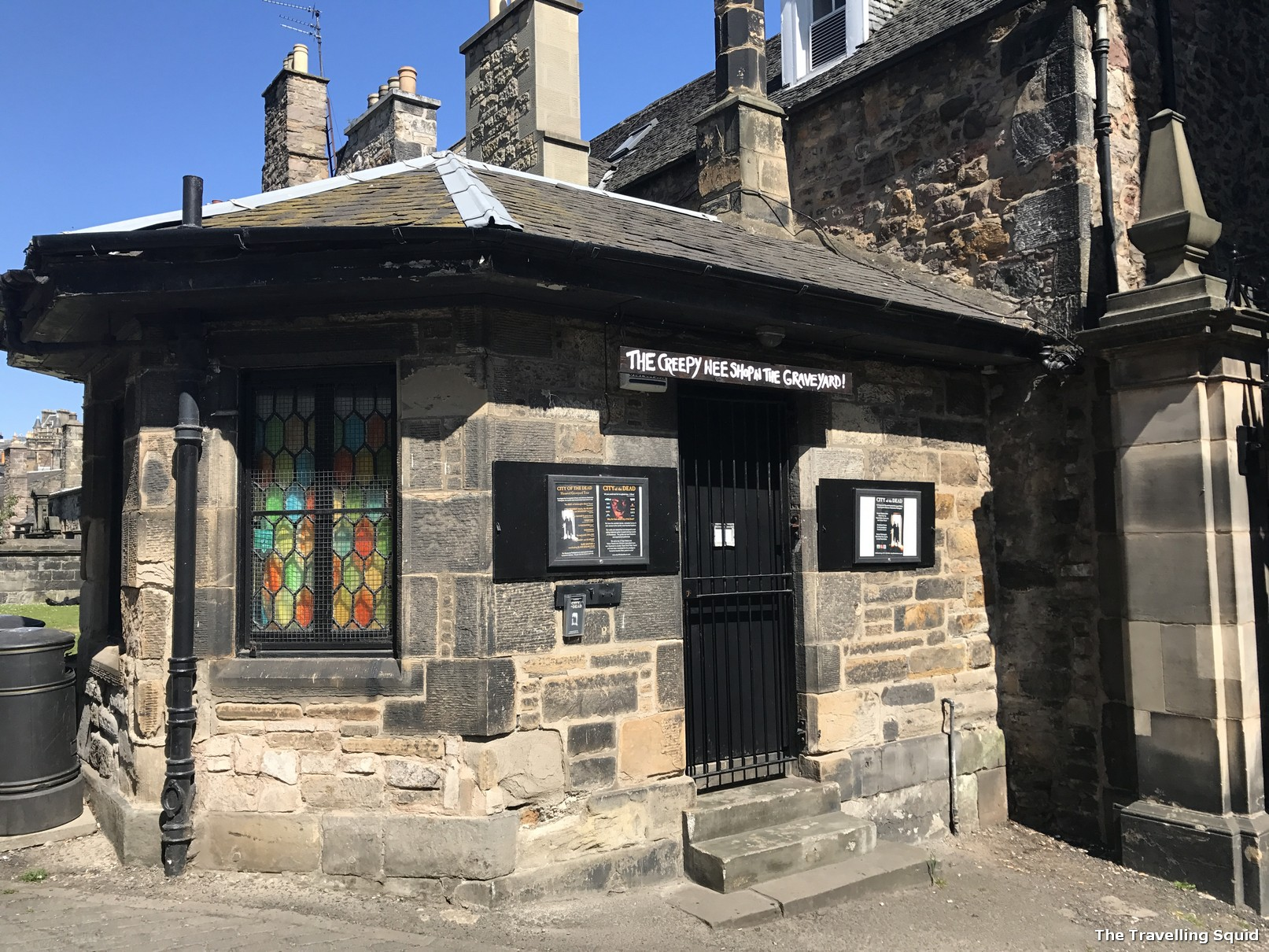 Greyfriars Kirkyard edinburgh graveyard shop