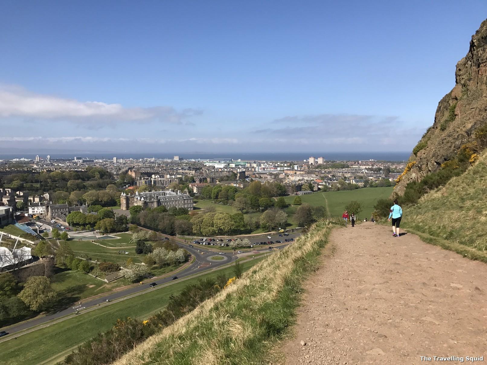 arthur's seat edinburgh hike
