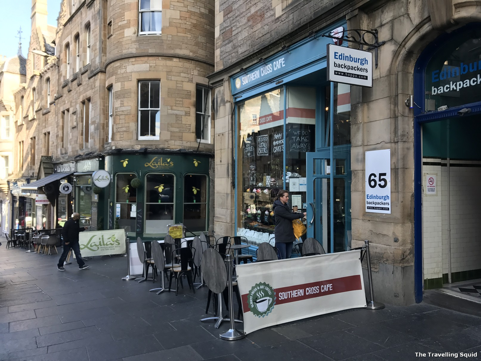 edinburgh southern cross cafe breakfast