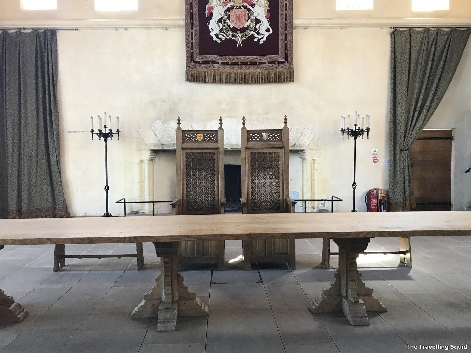 stirling castle the great hall