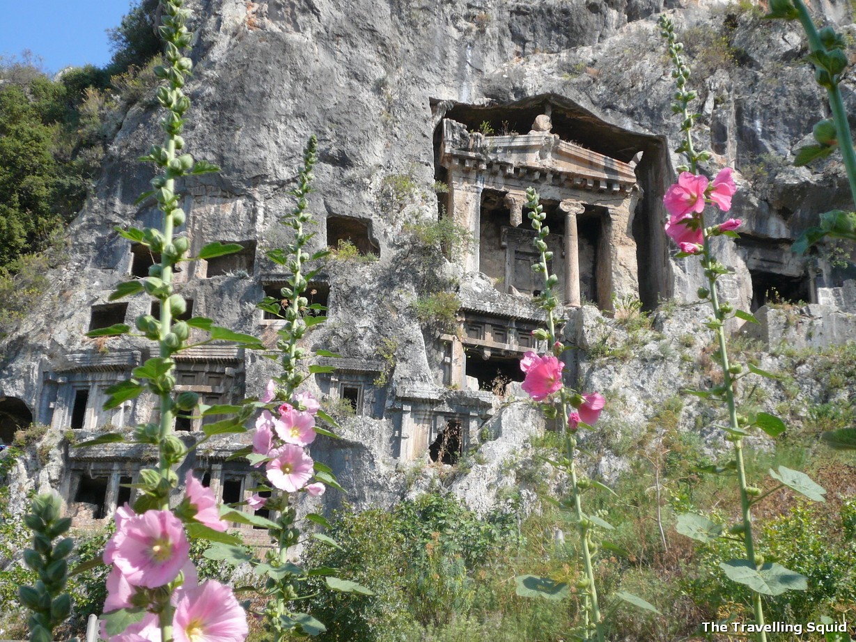 Fethiye Rock Tombs ancient sites in Turkey to explore