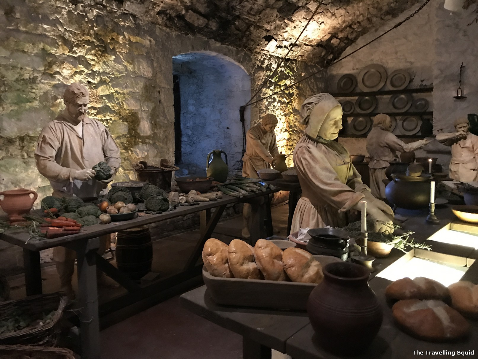 the great kitchens stirling castle edinburgh