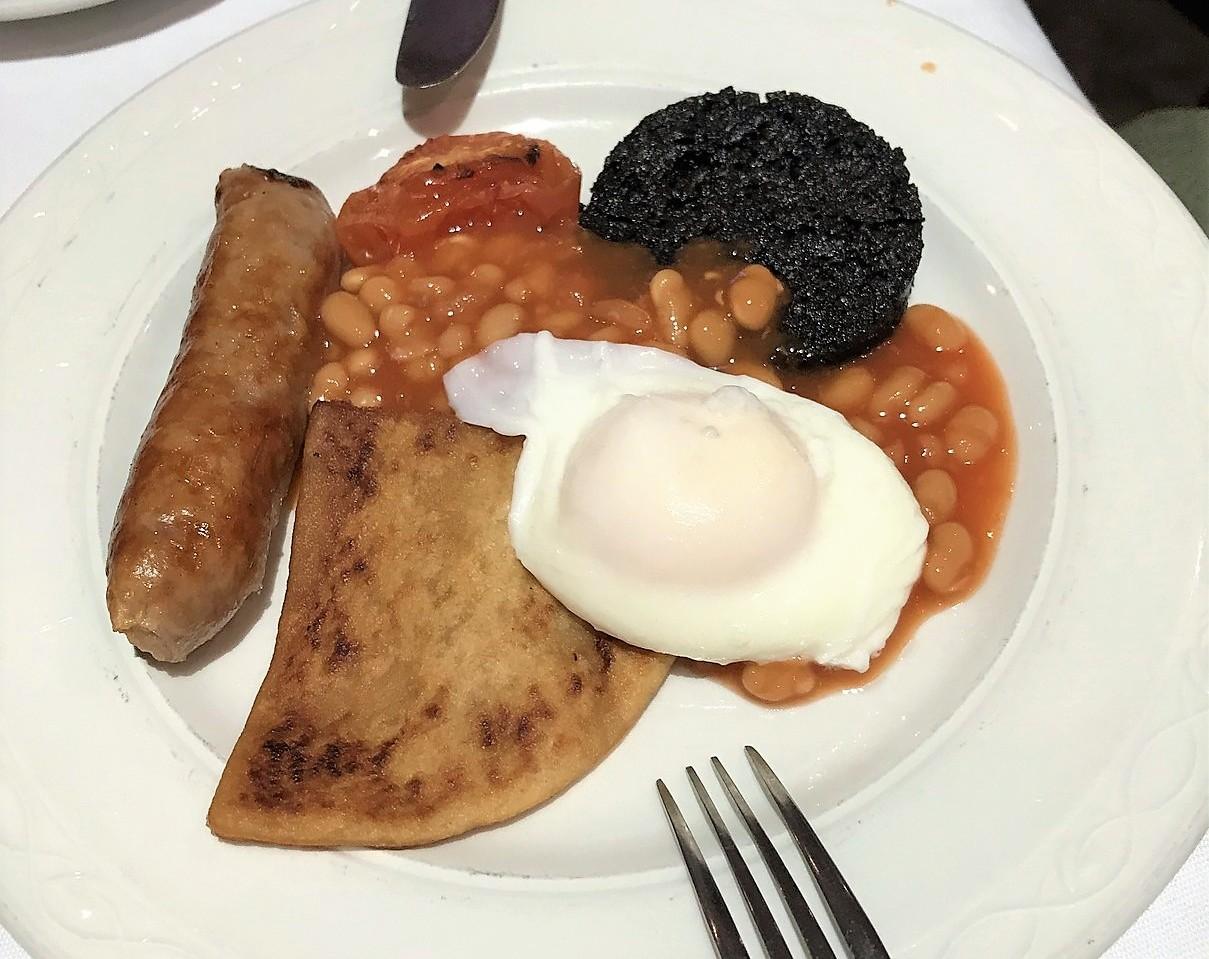 loch long hotel breakfast