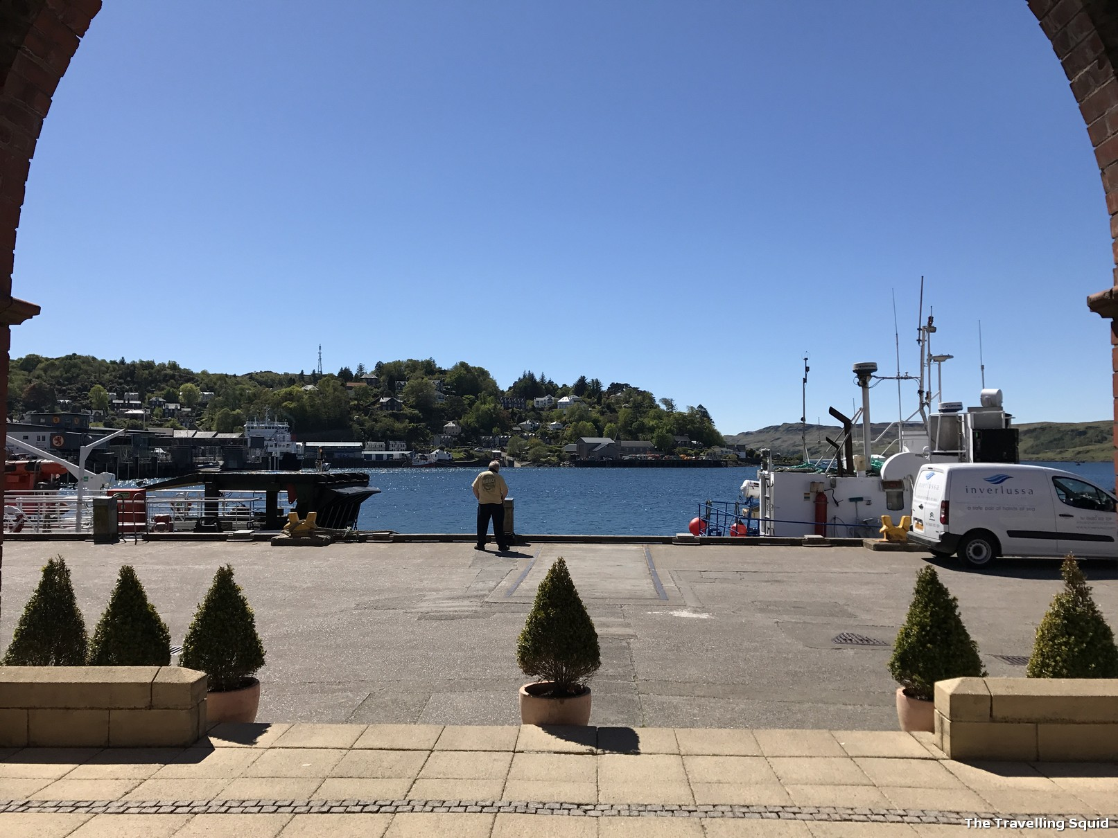 oban seafront harbour
