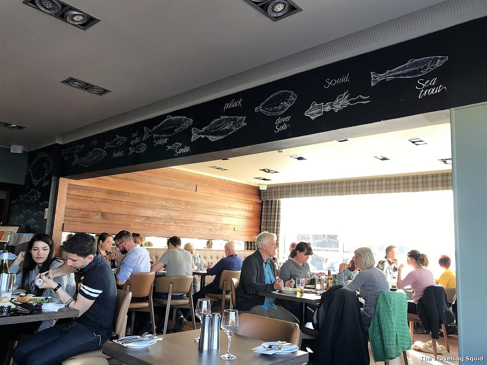 waterfront fishouse restaurant oban seafood