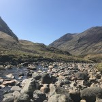 A Three Sisters Hiking Trail in Glencoe near Gearr Aonach