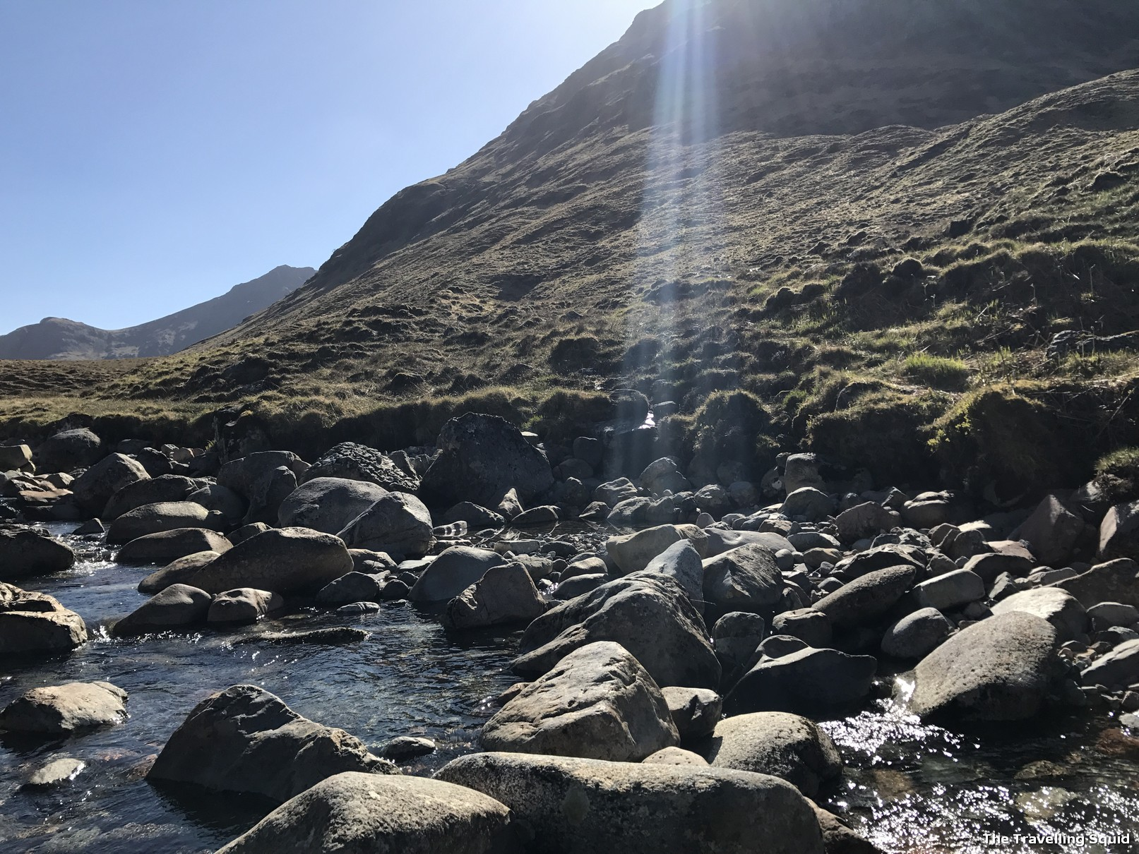 the meeting of the three waters glencoe scotland