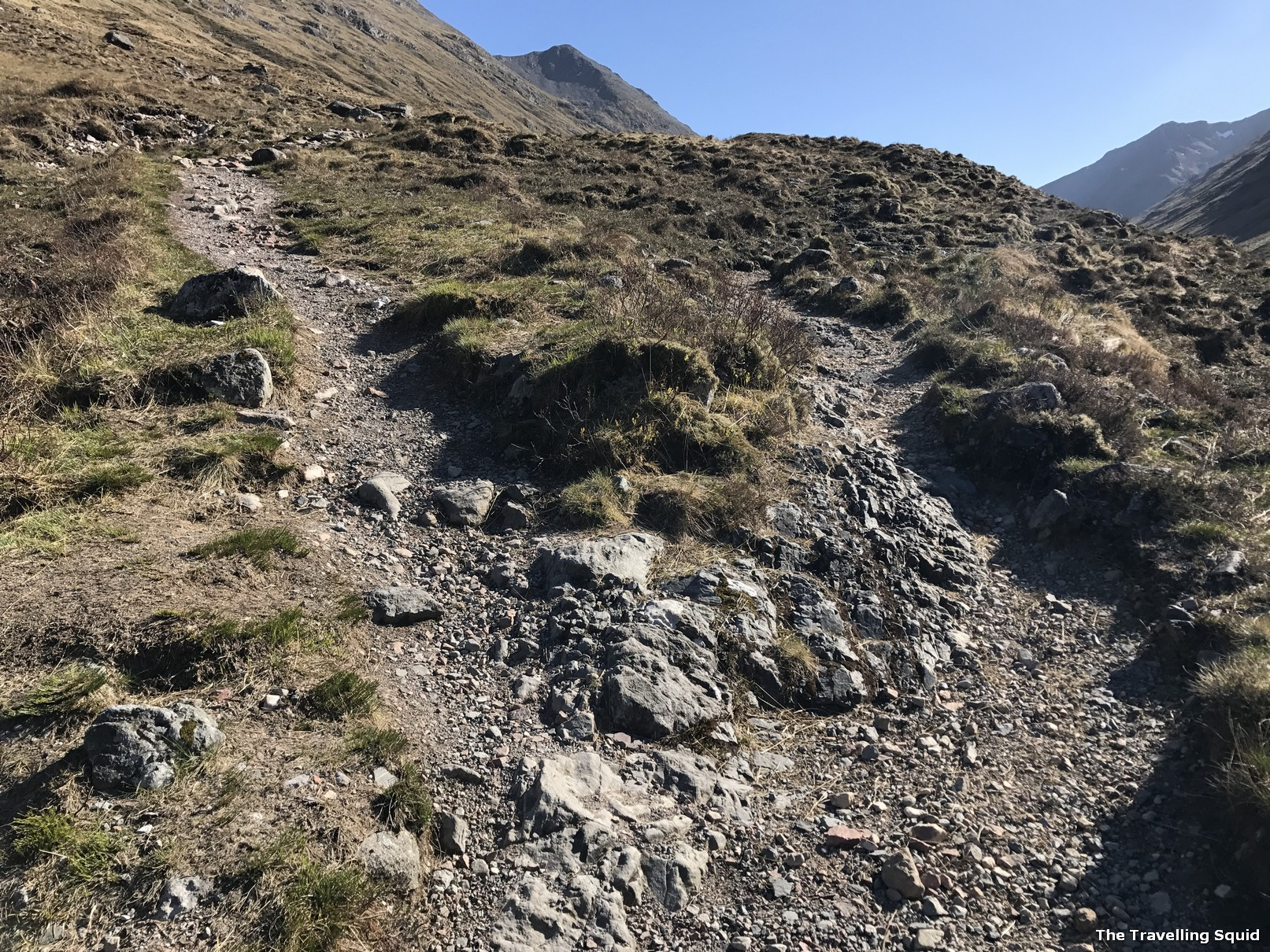 five mile walk glencoe scotland