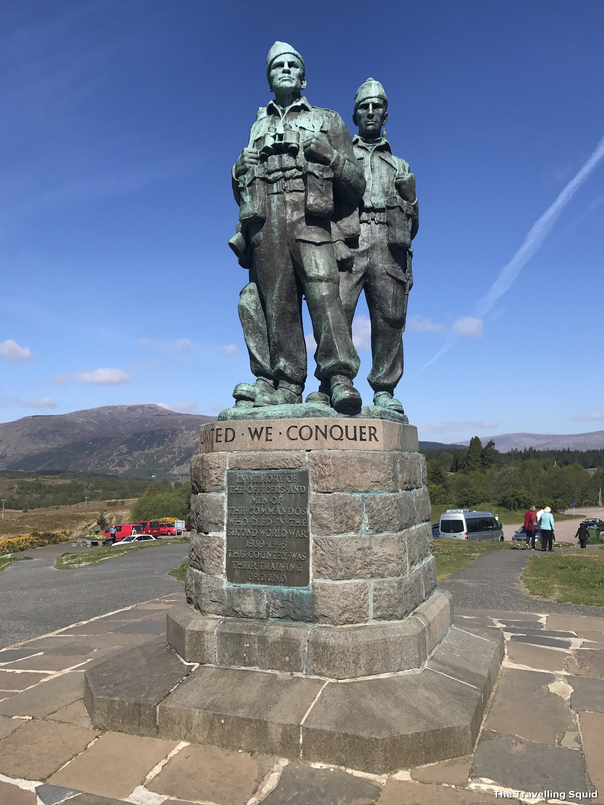 Photo Story Driving To The Commando Memorial In Fort William The