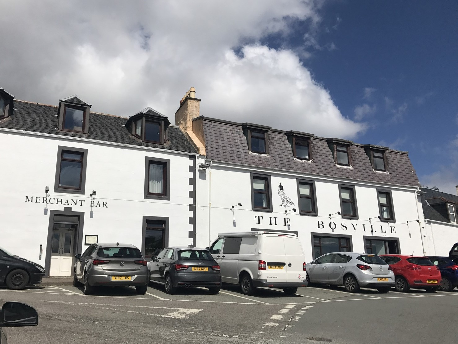 bosville hotel isley of skye portree hotel