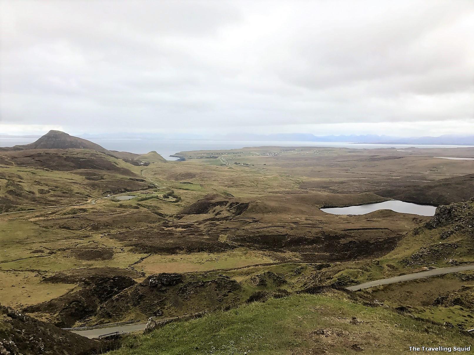 Quiraing isle of skye scotland