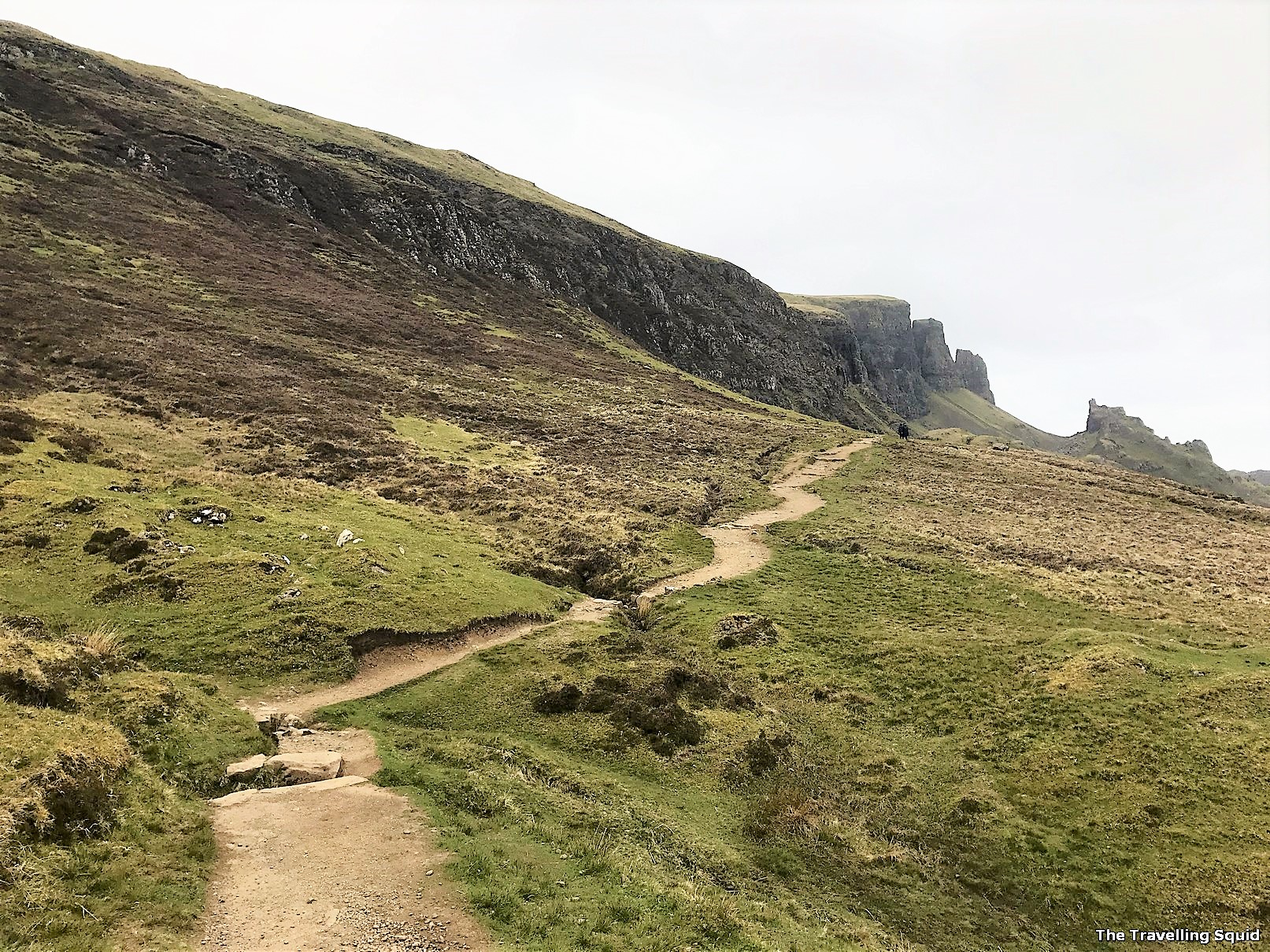 Quiraing Hiking Trail in Isle of Skye
