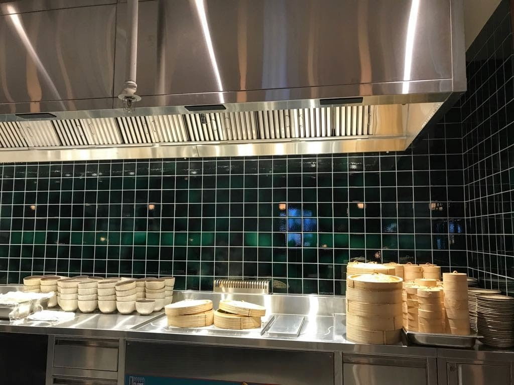 Wabi-sabi tiles in the noodle bar. #kitchengoals