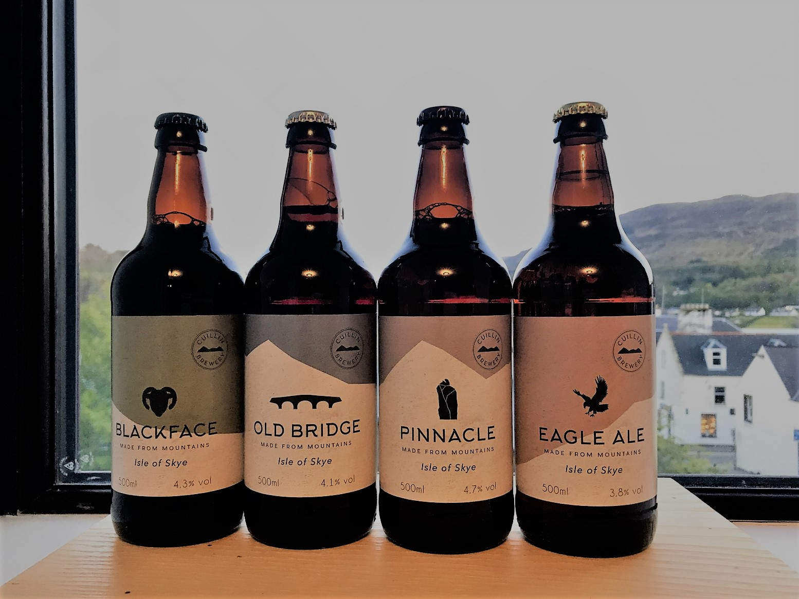 Review craft beer cuillin brewery isle of skye