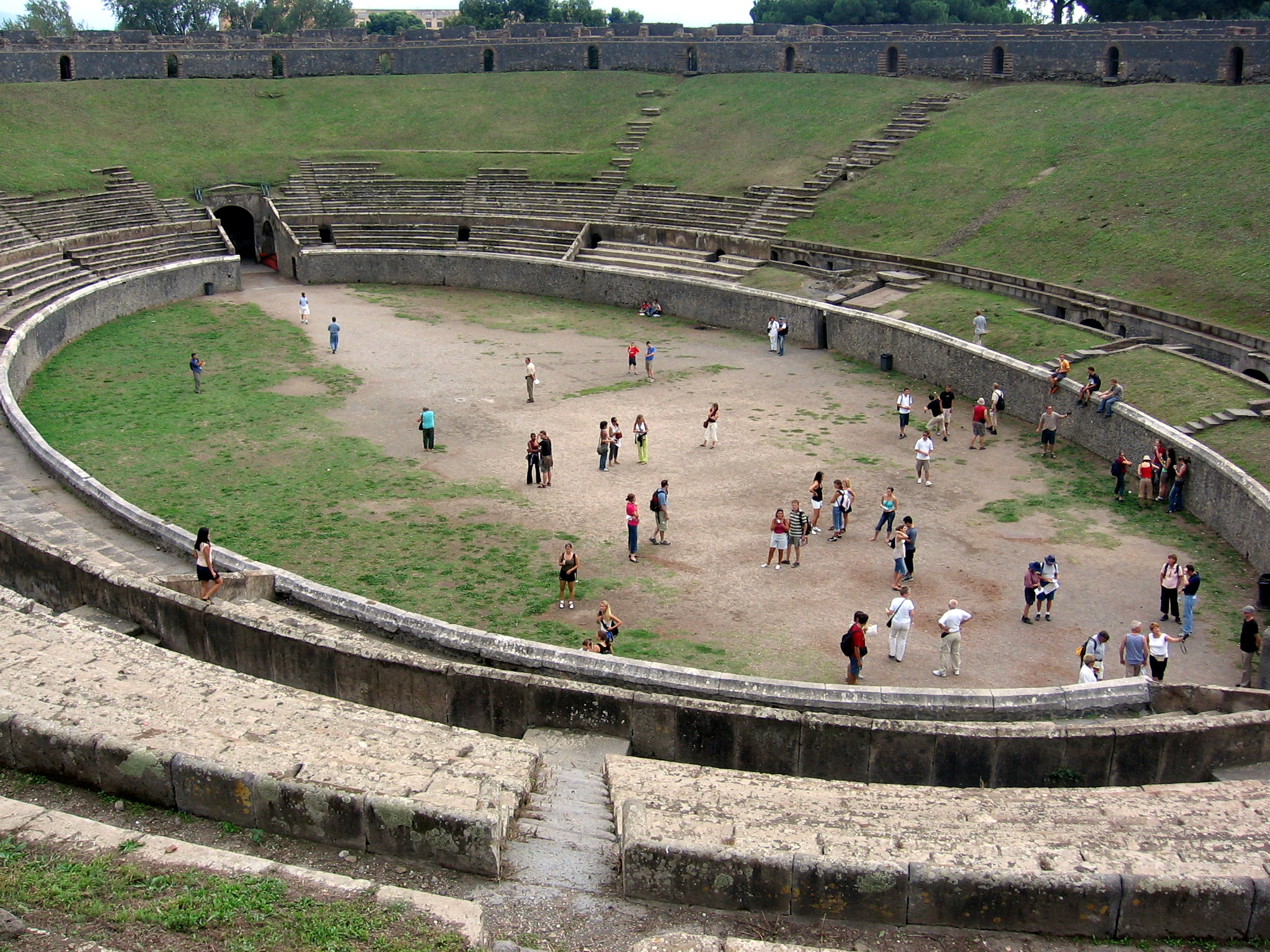 Pompeji Arena destinations to visit for first timers to Italy