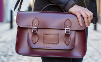 cabridge satchel brown