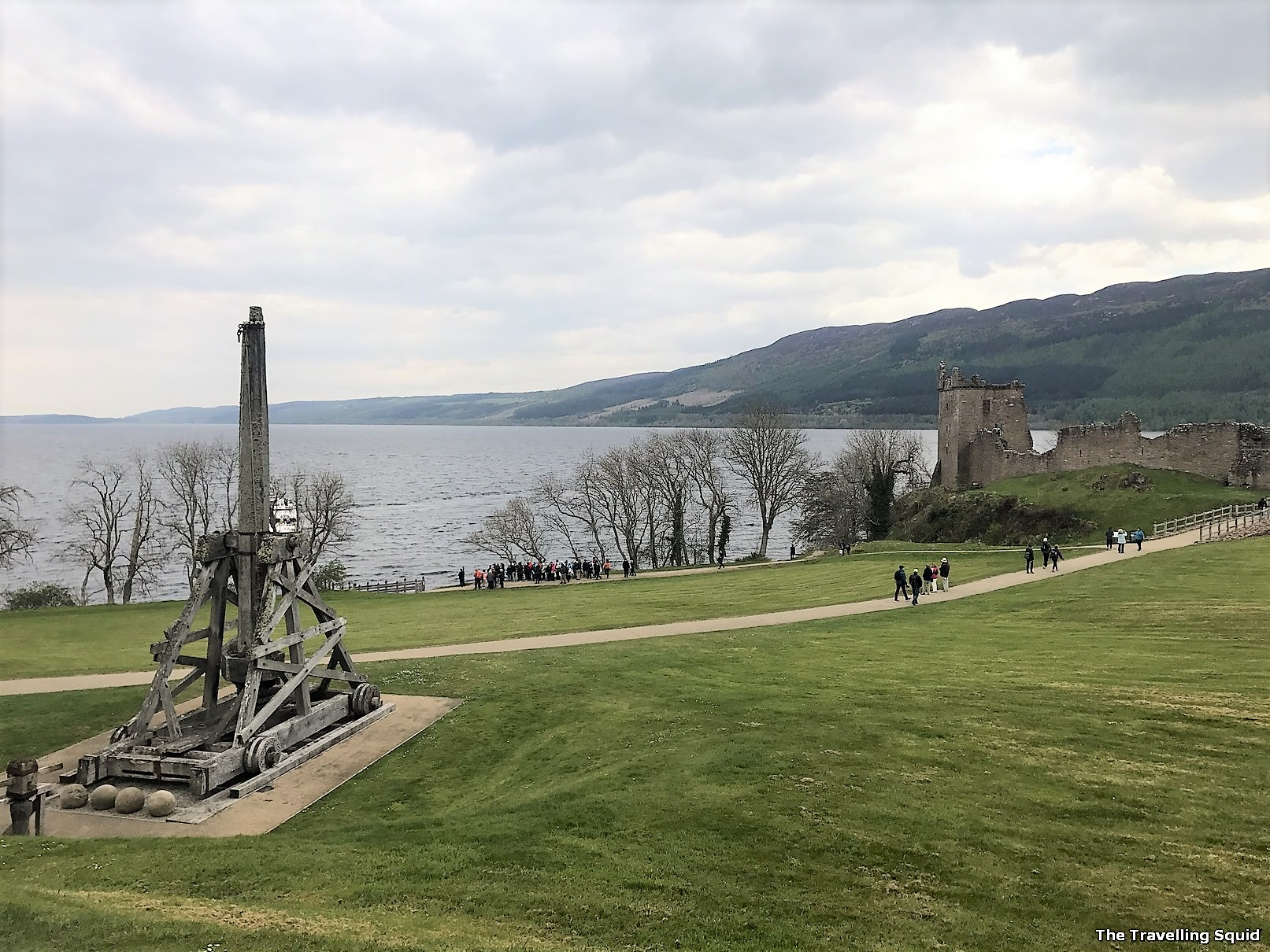 Urquhart Castle near Loch Ness Scotland worth visiting