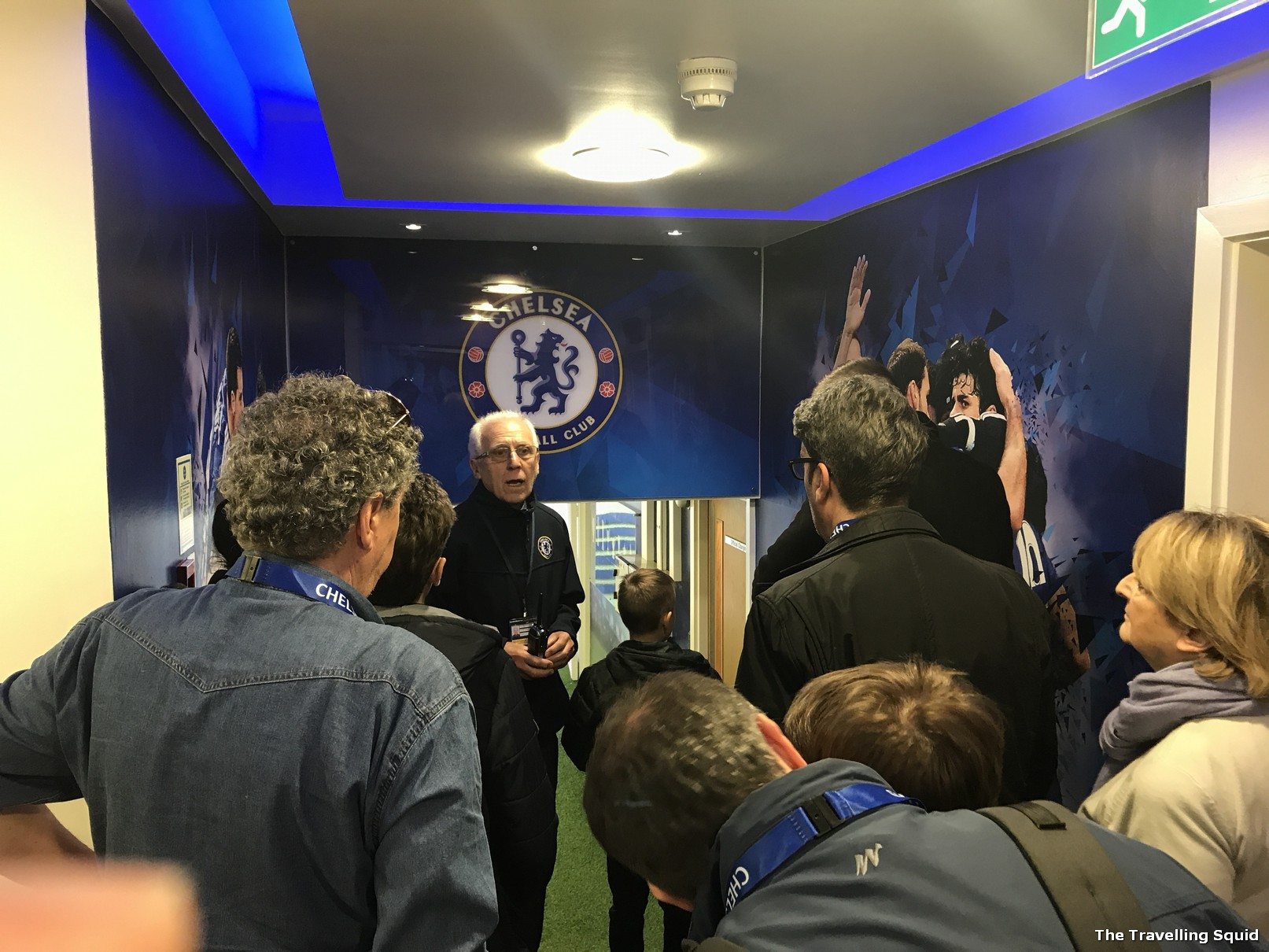 chelsea fc stamford bridge stadium tour dressing room