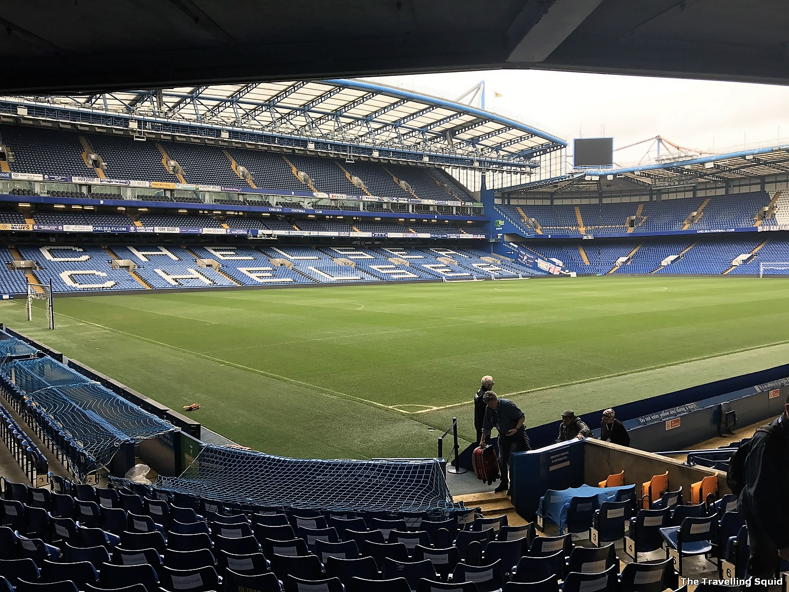 chelsea fc stamford bridge stadium tour spectators stand