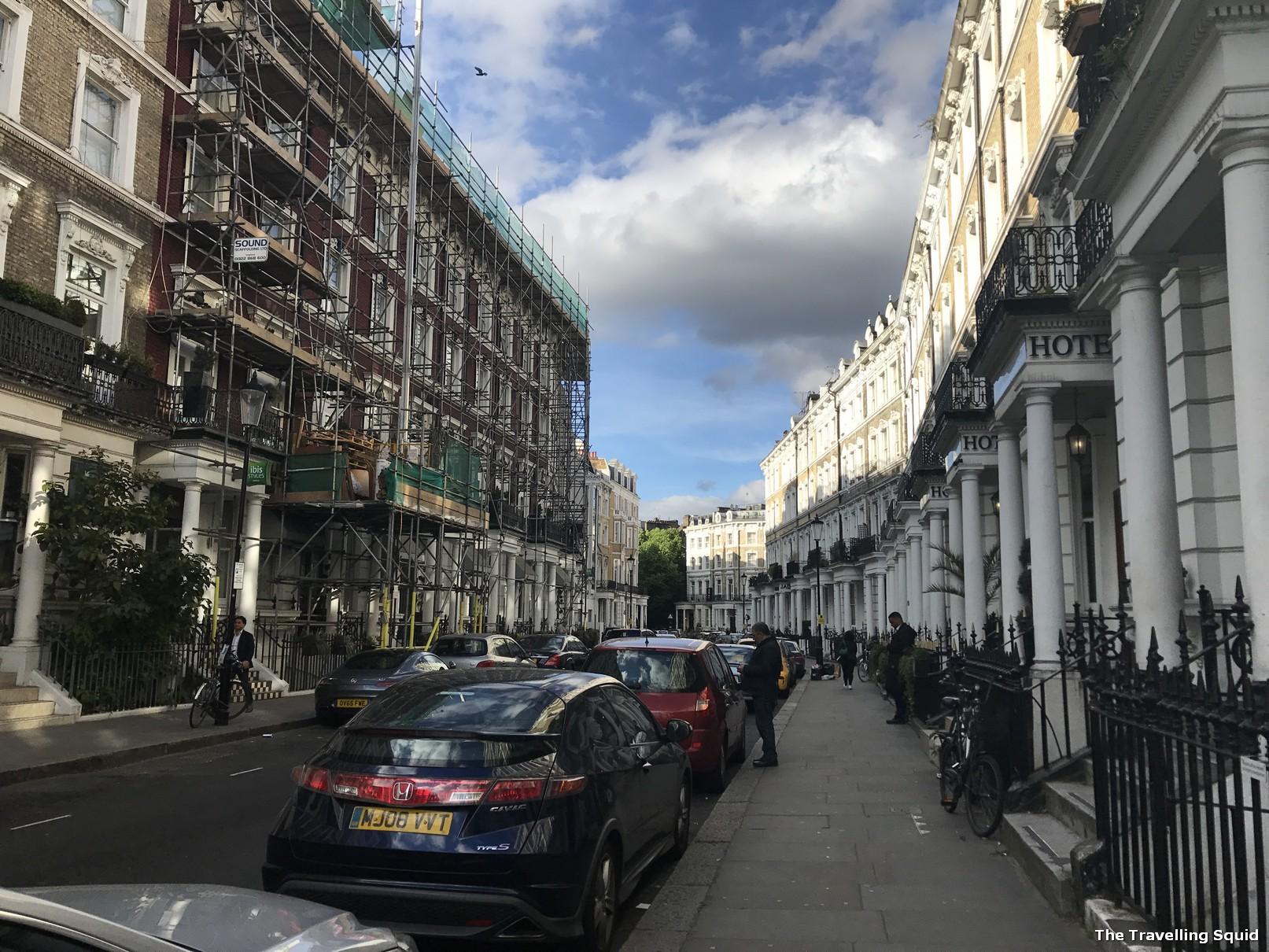 earls court london hotel xenia