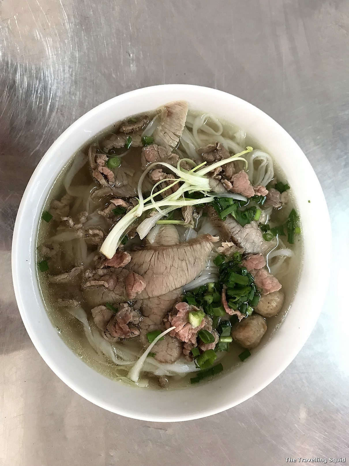 Pho 29 for good noodle soup in Danang