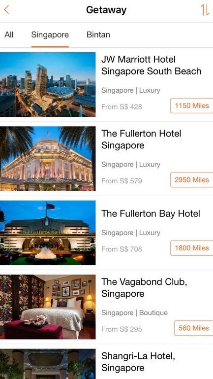 mileslife app review getaways