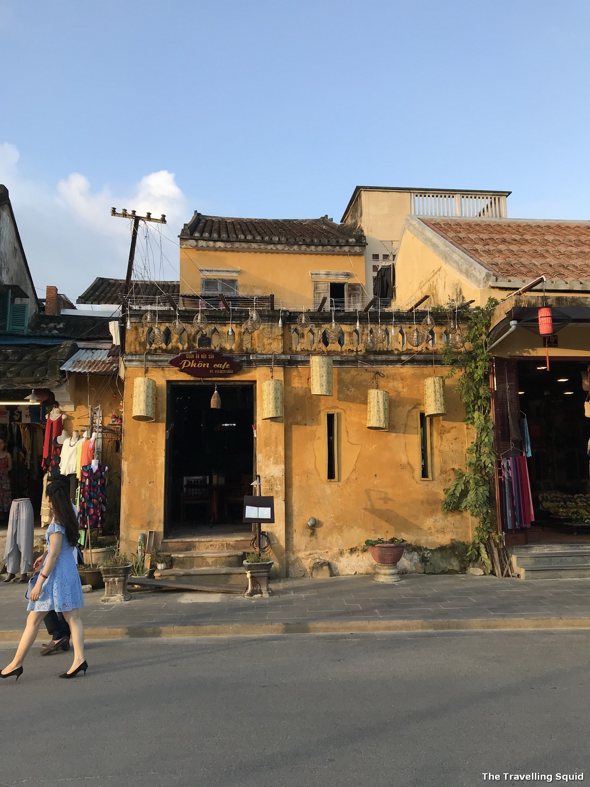 hoi an anicent town shophouses