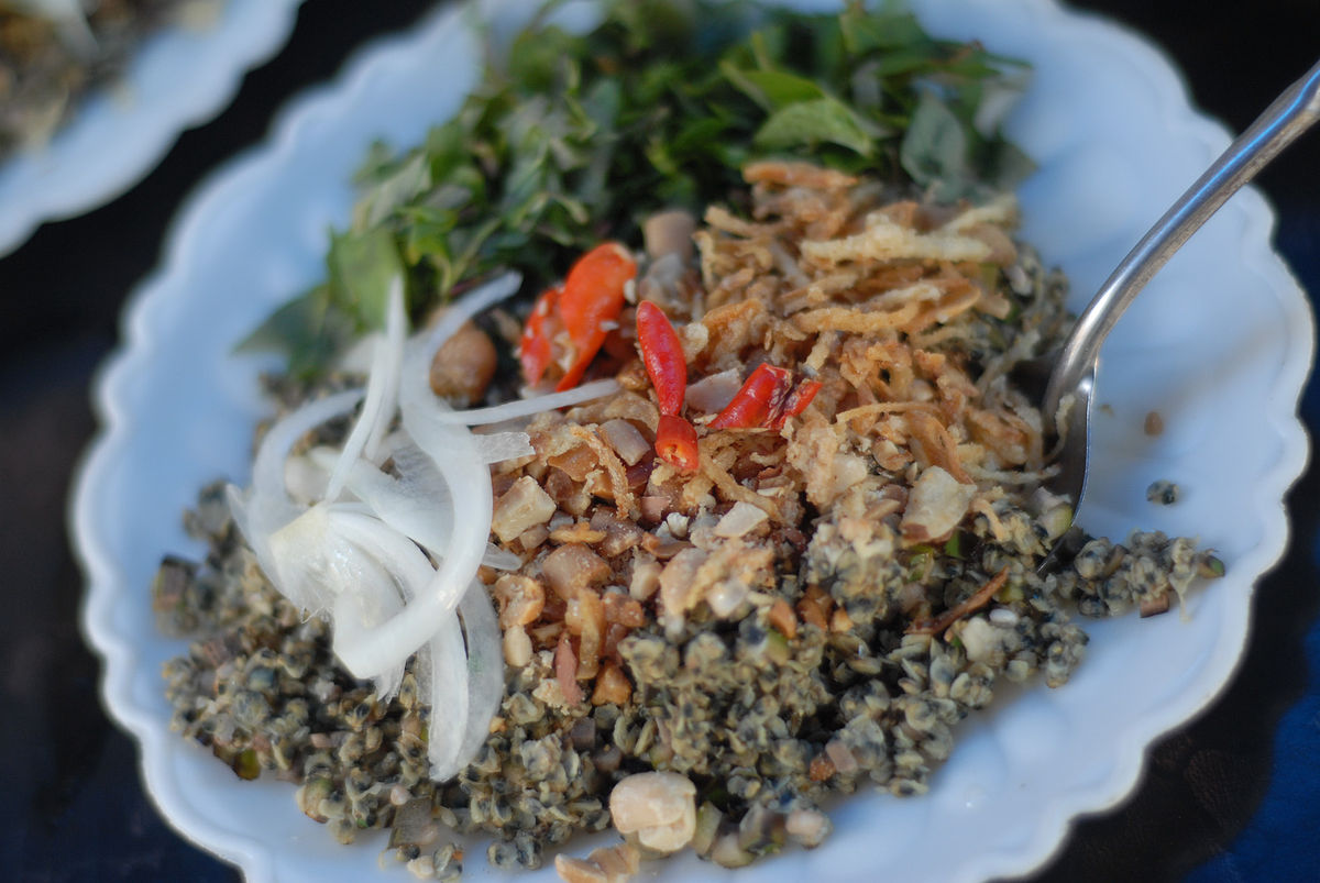 Com Hen Vietnamese Rice dish