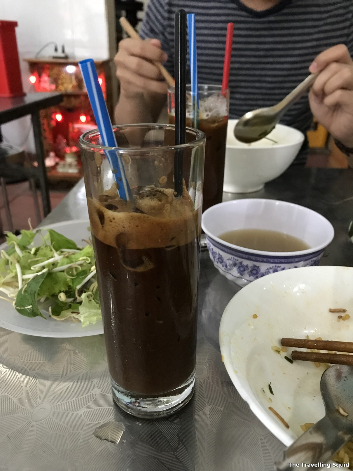 Vietnamese coffee ba hoa hue vietnam