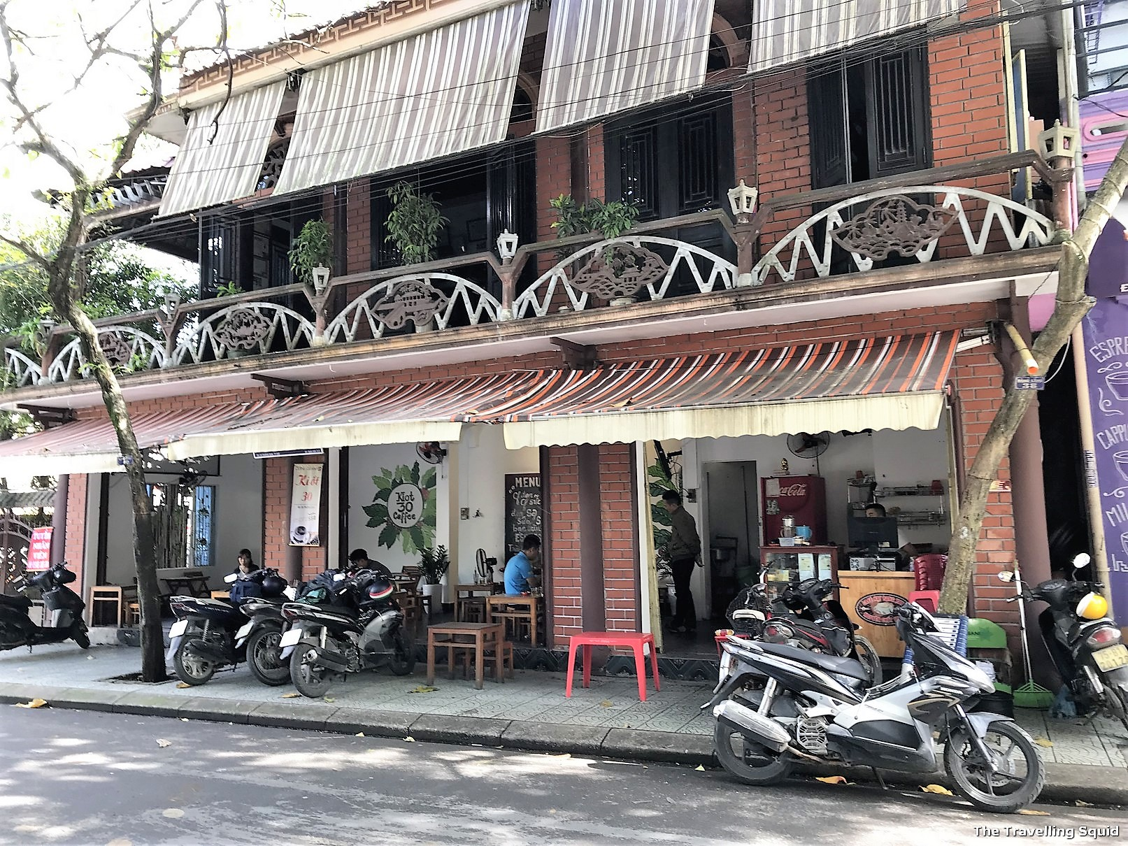 Visit Ba Hoa for authentic Vietnamese food in Hue coffee shop