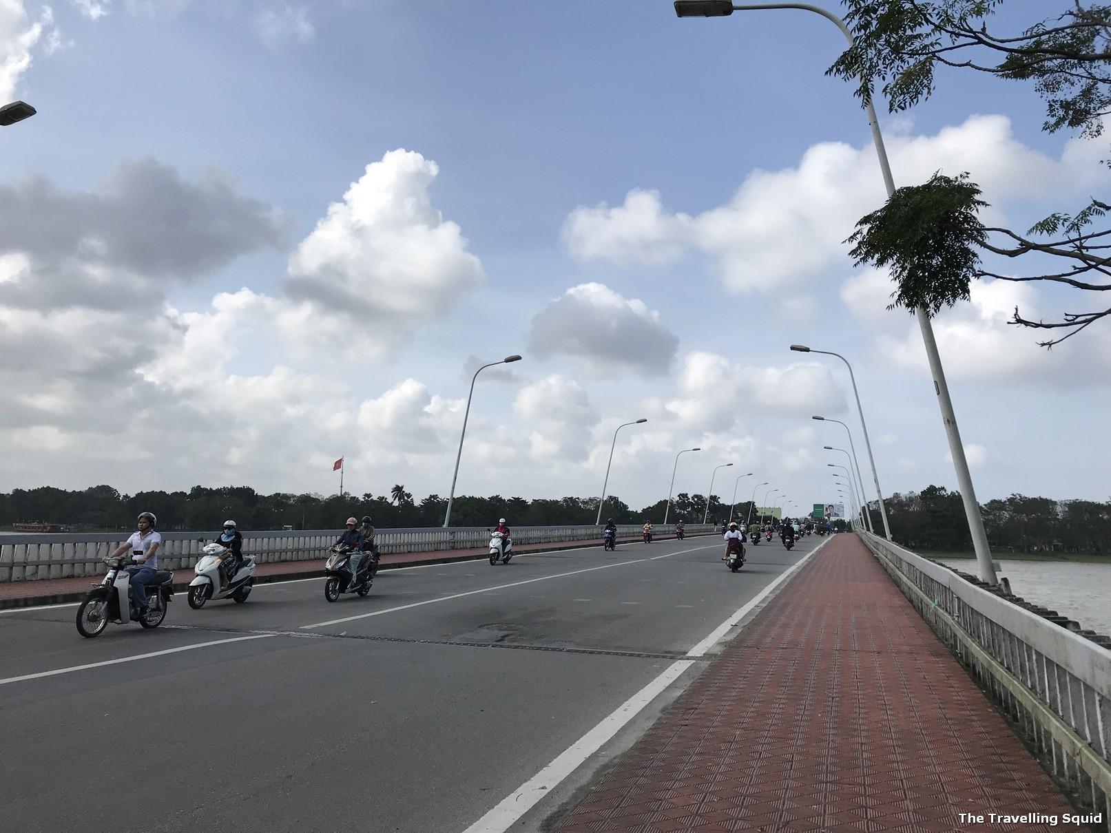 phu xuan bridge pedestrian walkway