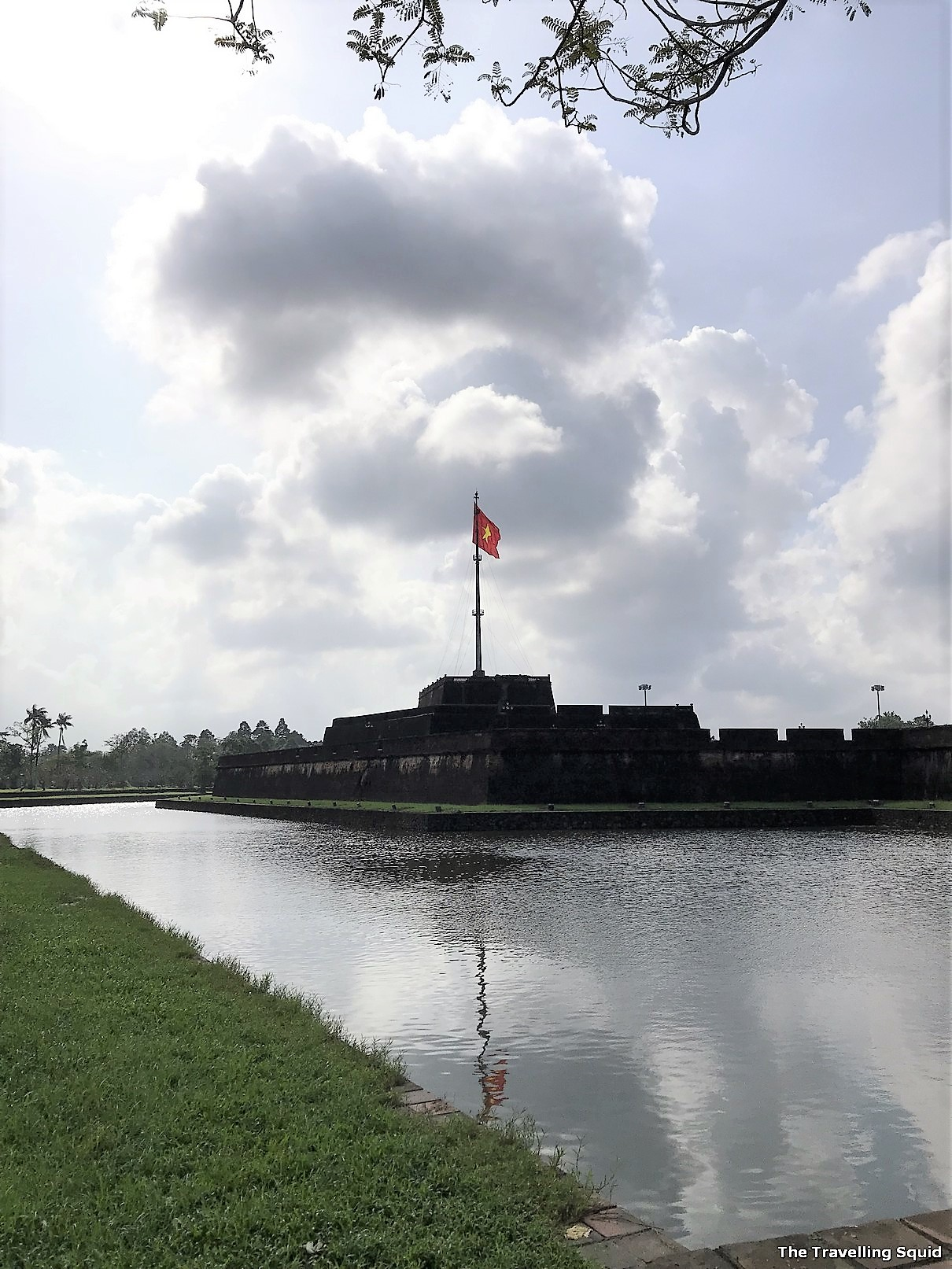 imperial city hue flag tower
